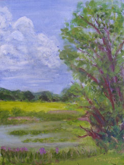 Ooms Pond Painting